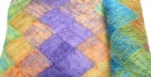 USKnits - scarves, cowls, neckwarmers, shawls / Hand knitted and crochet scarves, cowls, neck warmers and shawls