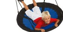 Therapy Swings / Variety of indoor therapy swing for children.