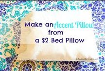 Make pillows / by Mary Jo Hamilton