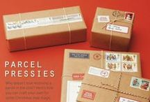 Parcel . Postcard . Letter . Stamp / by Pang Piyaporn