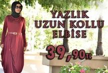 Yazlık Uzun Kollu Elbise / Kullanım açısından çok rahattır. Penye kumaşından imal edilmiş olan elbiselerimiz astarlıdır. Beden yoktur standart kalıplar kullanılmıştır.