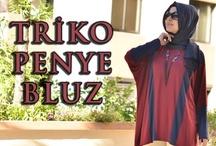 Triko Penye Bluz