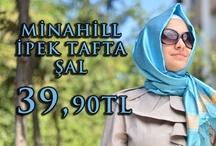 Minahill İpek Tafta Şal
