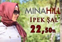 Minahill İpek Şal
