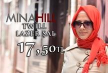 Minahill Twill Lazer Şal