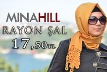 Minahill Rayon Lazer Şal