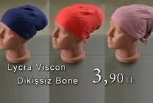 Lycra Viscon Dikişsiz Bone