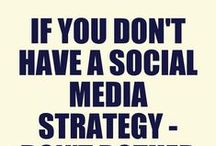 Social media strategy / Having a social media strategy is the key to social media success! This board is filled with hints, tips, infographics and information all aimed at helping you develop your social media strategy for your business.