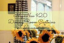 Make curtains and window treatments / by Mary Jo Hamilton