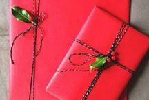 Gift Wrapping / Beautiful gift wrapping / by Rianna Mallard