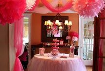 Kids Party Ideas / Ideas for adding the finishing touches to kiddies parties.