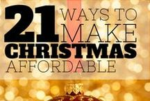 Affordable Holiday Gifts / Save Fun and Have Money during the Holidays! 2014