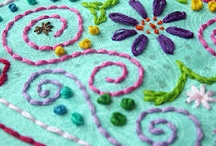 Embroidery / Small stitches / by Tiina .