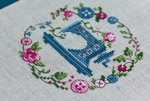 x stitch / by Tiina .