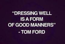What Men Should Wear / by quiche