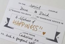 { all things wedding } / by { Love Faith and Hope }