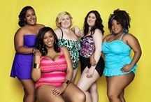 Swimwear Plus Size - Plus Model Mag / Always For Me Plus Size Swimwear featured in May issue of Plus Model Magazine
