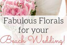 Beach Wedding Flowers / Best destination wedding travel agent per our WeddingWire client reviews! Fabulous floral arrangements for your beach wedding, best beach wedding flowers, and more. www.blisshoneymoons.com