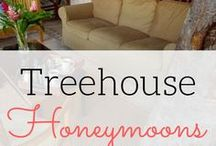 Treehouse Honeymoons / Best destination wedding travel agent per our WeddingWire client reviews! You should feel on top of the world on your honeymoon. Book a lavish tree bungalow or a hotel suite for an intimate, adventurous experience with a sweeping view of the jungle around you. Take your romance to new heights with our top picks in tree bungalows and suites contact www.blisshoneymoons.com
