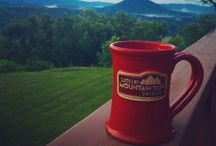 The traveling coffee mug / Coffee cups and mugs in beautiful and scenic destinations