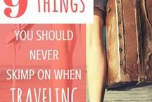 Travel Tips / From Travel Hacks to Toilet Tips, this board shares all the travel tips you need to know for your next big adventure!