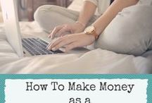 Make Money Blogging / Learn how you can make money from your blog through advertisement, affiliate marketing, sponsorships and more