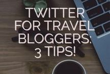 Social Media for Travel Blogger / Social Media Tips and Tools to promote, connect and engage with your fans from all over the world.