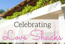 Love Shacks / Top destination wedding travel agent per our WeddingWire client reviews! Our favorite beach bunglows, honeymoon suites, and villas. Perfect for a honeymoon or romantic get-away. www.blisshoneymoons.com