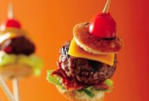 Party Foods / dishes, desserts, and drinks that could be served at a party