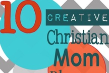 10 Creative Christian Mom Bloggers / You'll find lots of creative ideas from these Christian Mom Bloggers! Fashion, Photography, Organizing, Parenting, Mom stuff, Homeschooling, School ideas, Home Decor, jewelry, DIY and much, much more creativity! / by Becky_ Organizing Made Fun™