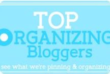 Top Organizing Bloggers / **A Closed Group Board** If you need some great organizing inspiration, you will find it here with the TOP organizing bloggers. Combined together, they have the ability to inspire ALL! / by Becky_ Organizing Made Fun™