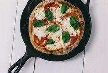 pizza. / pizza lover.
