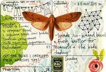 mixed media techniques / Ideas for the 30 day art journal challenge peeps. / by Stacey Budge-Kamison