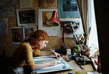 Art Studio / Where creation happens