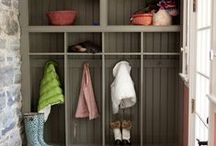 Marvelous Mudrooms / Home decor