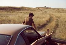 "On The Road | Road Trip / ""Тнєяє ωαѕ иσωнєяє тσ gσ вυт єνєяуωнєяє, ѕσ кєєρ яσℓℓιиg υи∂єя тнє ѕтαяѕ."" ~ Jack Kerouac"