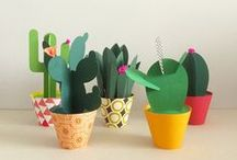 DIY, Craft and Ideas / Get creative with or without friends and family with these Cactus inspired ideas!