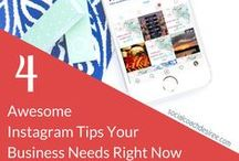 Instagram Tips / Tips, tricks, and Ideas to help grow your Instagram account for business. #instagram #thinksocial Let's share ideas on Instagram! Send me a direct message on Pinterest once you are following me and I will invite you to Pin ideas to help collaborate!