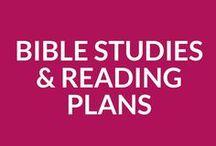 BIBLE STUDIES & READING PLANS