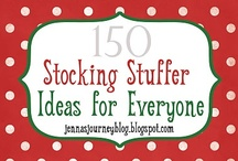 Christmas Stocking Stuffers / by Laura Jones