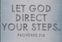 And  God said . . . Proverbs / by Laura Jones