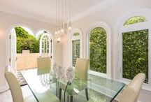 | CELEBRITY  DINING ROOMS | / Dining room decor of the rich and famous