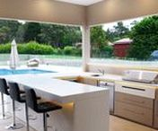 | OUTDOOR- KITCHENS & BBQ AREAS | / Outdoor kitchen BBQ areas are fast becoming the extension of the interior of the home.