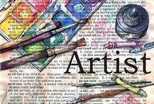 Artsy / Art lover.