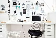 Home Office. / Work it, girl.  / by Nicolette Mason