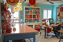Art/Craft/Sewing Studio Organization