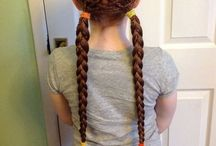 Hairstyles / My claim to fame at local primary school: H's mum can do mint hair.