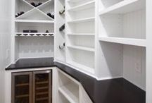 l PANTRY STYLES & DESIGNS l / The pantry has become a must have in any kitchen.