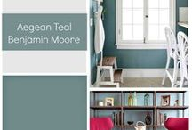 l SHADES OF ROOM BY ROOM PAINT COLOURS l / Designer paint colours for every room of the home.