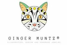 m y · w o r k / Illustration, Design, Cats and Handmade Jewelry.